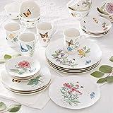 Lenox 28 Piece Butterfly Meadow Classic Dinnerware