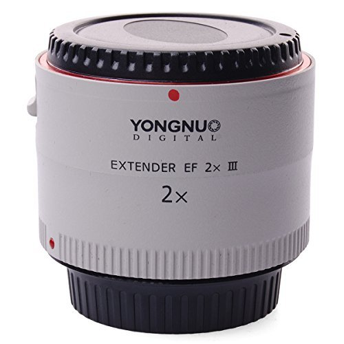 YONGNUO Extender EF 2x III Lens Electronically Controlled For Canon EOS EF LF470の商品画像