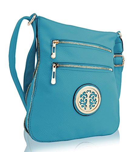 Turquoise Crossbody Strap Collection Shoulder with Women Medium Bag MKF RONEEDA tRvqSwS8