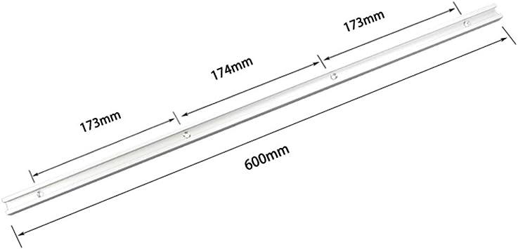 300mm ExcLent 300-1220Mm T-Track T-Slot Miter Track Jig T Tornillo Fixture Slot 19X9.5Mm Para Mesa Sierra Router Mesa Herramienta De Carpinter/ía