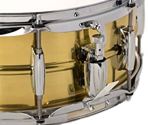 gretsch 5 5 x 14 legend brass snare drum musical instruments. Black Bedroom Furniture Sets. Home Design Ideas
