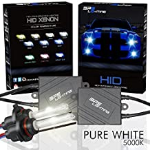 BPS Lighting® Black Series Premium AC 35w HID Xenon Conversion Kit With Quick Start Ballast Technology - Perfect to Replace Halogen Headlight & Fog Light - 2 Yrs Warranty / Tech Support (H13 (9008) Bi-Xenon, 5000K)