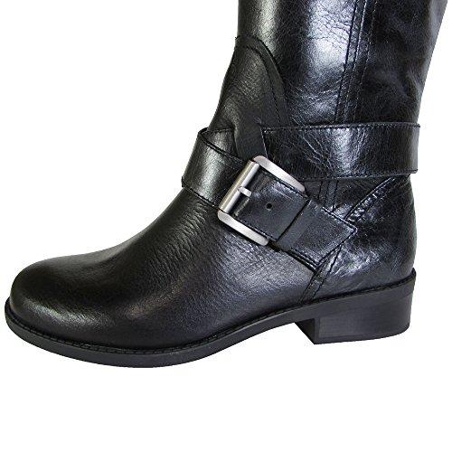 Black Boot Womens Riding Me Calf Leather Too Shoe Darcey qU0xxXZ