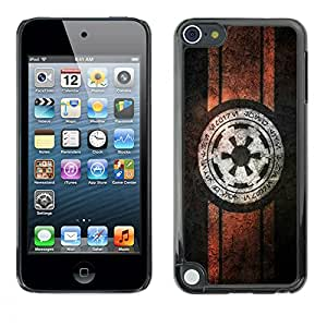 A-type Arte & diseño plástico duro Fundas Cover Cubre Hard Case Cover para Apple iPod Touch 5 (Starwars Alianza Rebelde)