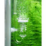 Rhinox Spio III CO2 Diffuser & Glass Reactor --- Compatible With Pressurized CO2 Tanks - Latest Technology Guarantees Optimal Diffusion of CO2 - Improves Growth & Health of Aquatic Plants