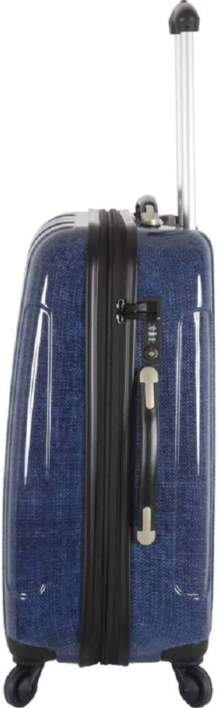 Bahamas FRANCE BAG Valise 70 cm Rigide en Polycarbonate pour Long s/éjour Navy Jeans