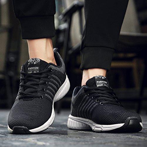 Donna Casual grigio da Sportive Uomo MXXM Running Trekking all'Aperto Corsa Interior Sneakers Scarpe Ginnastica Fitness wSqU4a
