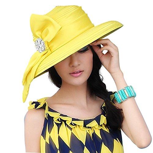 June's young wide brim hat designed ventilation Ultraviolet Protection