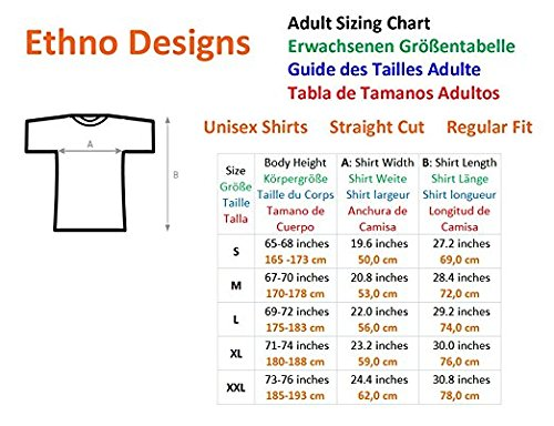 Amazon.com: Ethno Designs African Wildlife - Men`s Animal T-Shirt Reluctant Appearance regular fit: Clothing