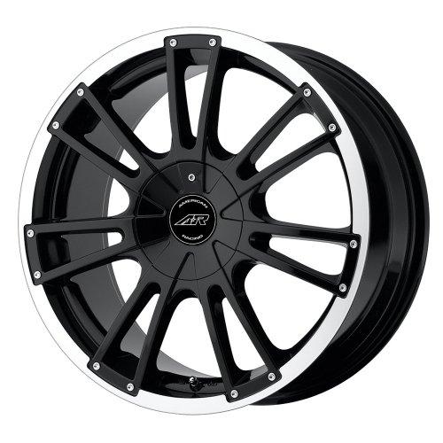 American Racing Speedway AR881 Gloss Black Machined Wheel (18x8