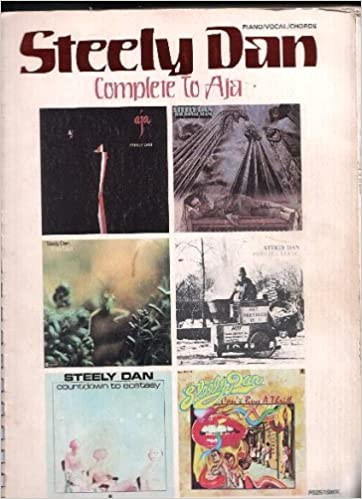 Steely Dan Rare 1978 Songbook Complete To Aja Piano Vocals