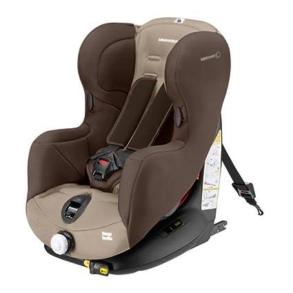 Bébé Confort Iseos, Silla de coche grupo 1 Isofix, marrón