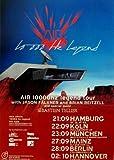 Air-Tourtplakat - 10,000 Hz Concert-Tourposter - 2001