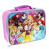 Disney Princess 16 inch Backpack and Lunch Box Set (Princess Pink/Multi)