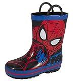 Spiderman Rainboot Youth US 12 Multi Color Rain Boot