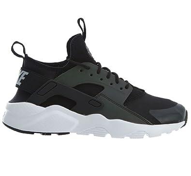 f4cfdd99314f NIKE Air Huarache Run Ultra SE (GS) Black Wolf Grey-White  Amazon.co.uk   Shoes   Bags