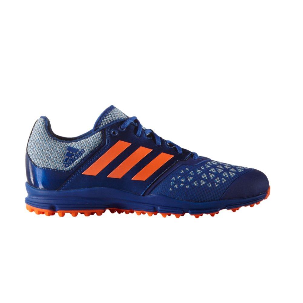 adidas Men's Zone DOX Field Hockey Shoe, Collegiate Royal/Solar Orange/Shock Blue, 14.5 M US by adidas