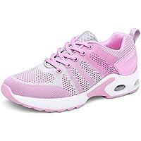ZENGVEE  [Patrocinado] Athletic de la mujer Running Zapatillas Moda Deporte Zapatillas de fitness gym Jogging Walking de aire