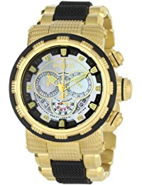 Invicta Men's 6663 Reserve Collection Chronograph 18k Gold-Plated Stainless Steel Watch