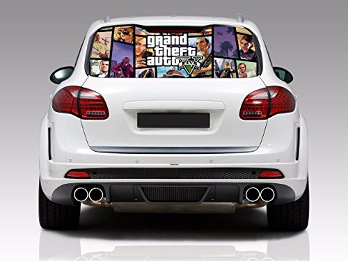 grand theft auto car decal - 2