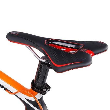 Sillin Bicicleta Montaña,Silla de Bicicleta Elástico Diseño ...