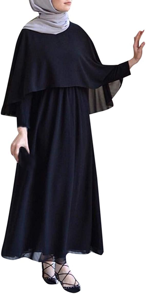 Frieed Mens Kaftan Muslim Long Sleeve Loose Color Block T-Shirt Tee