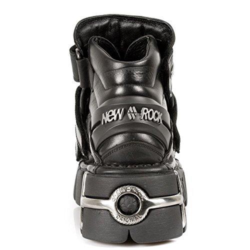 New Rock Unisex Herren Damen Stiefel Boots Goth Punk Design Echtleder Neue Kollektion