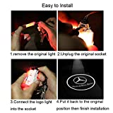 KRADA Car Door Logo Light LED Projector Ghost