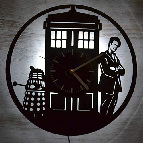Doctor Who Series Design Wall Clock Modern Design Wall Decor Handmade Vintage Unique Home Wall Decor Birthday Gift Friendship Present