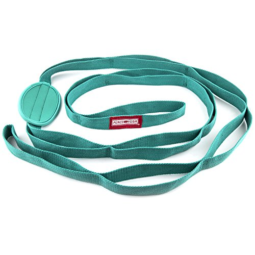 peace-yoga-durable-7ft-cotton-yoga-stretching-exercise-strap-band-with-multiple-grip-loops-turquoise