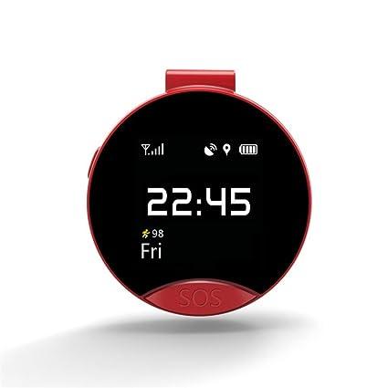 Mini reloj inteligente, VNEIRW de 1,2 pulgadas LEMFO S9 Elderly ...