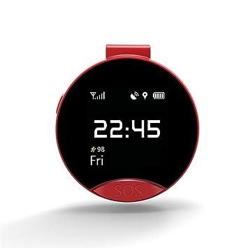 Mini reloj inteligente, VNEIRW de 1,2 pulgadas LEMFO S9 Elderly Smartwatch, reloj inteligente con GPS ...