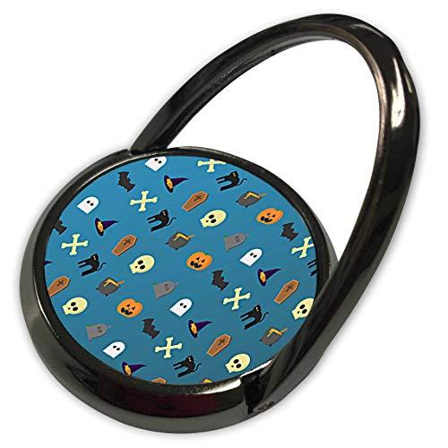 3dRose Sandy Mertens Halloween Designs - Halloween Cats, Pumpkins, Bats, Ghosts, Hats Pattern, 3drsmm - Phone Ring (phr_290238_1)]()