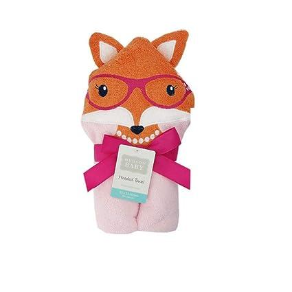 Mi toalla con el carácter lindo para niños Lavadora Fox ultra-suave y super-