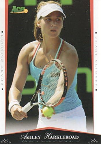 2008 Ace Authentic Matchpoint Autographs #33 Ashley Harkleroad Auto Tennis Card