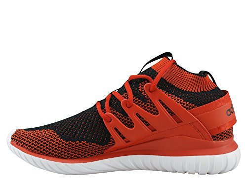 adidas Tubular Nova Primeknit Craft Chili Black White rojo