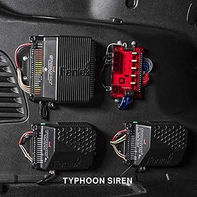 Feniex C-4017 Typhoon Full-Function 100 Watt Siren & Controller: Automotive