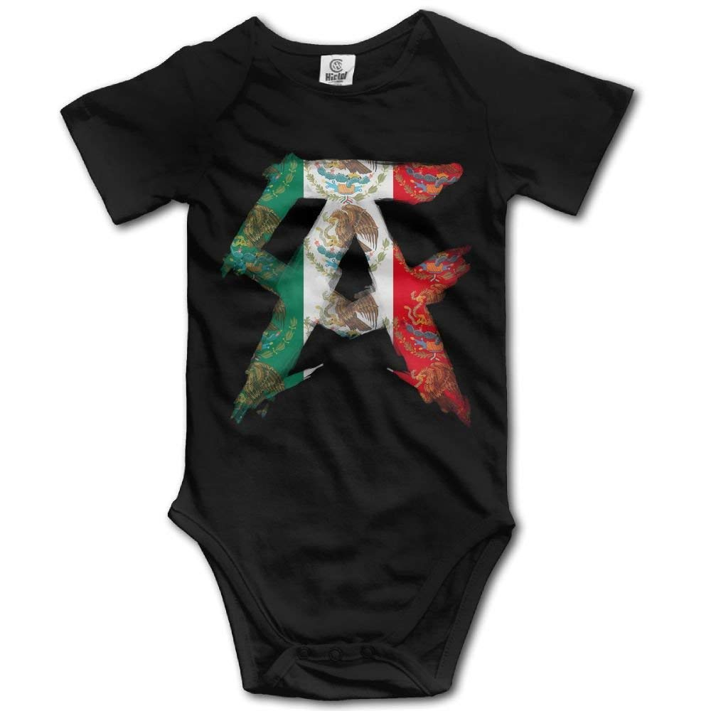 Cute Funny Cool Canelo Alvarez Baby Clothing Baby Boys Onesies Clothes Newborn Bodysuits Short Sleeve Jumpsuit Girls Outfits Black 6 Months