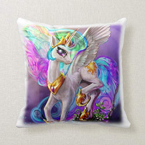 My Little Pony Pillow Square Pillow Decorative Pillow