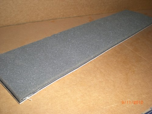 SSP Dimpled Vibration Isolation Pad Strip 3/8 thick 4 X21
