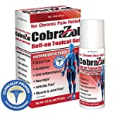CobraZol Topical Gel Roll-On Chronic Pain Relief(2oz)