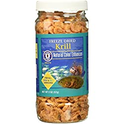 San Francisco Bay Brand ASF71320 Freeze Dried Krill for Fresh and Saltwater Carnivores, 56gm