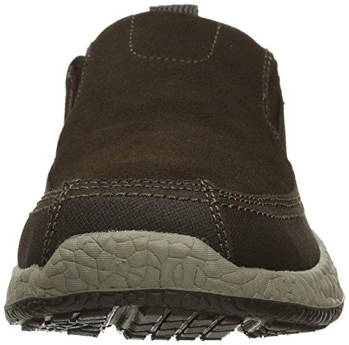 Skechers USA Mens Bursen Esten Slip-On Loafer Chocolate tERkXN2iQ