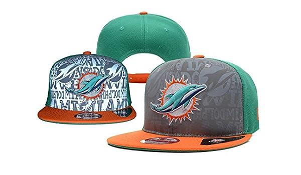 De equipo de fútbol americano de los Miami Dolphins algodón gorra ...