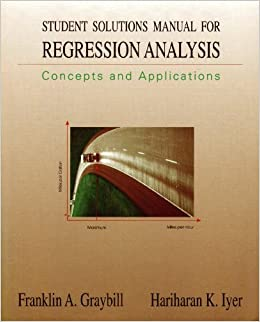 Student Solutions Manual for Regression Analysis: Concepts