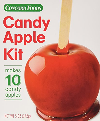 Concord Foods Candy Apple Red Kits, 5-Ounce Box (VALUE Pack of 24 Boxes)