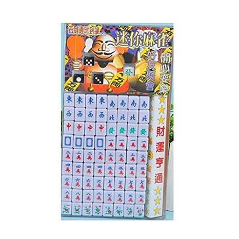 Vektenxi New Mahjong Juego de mesa familiar chino, juego de ...