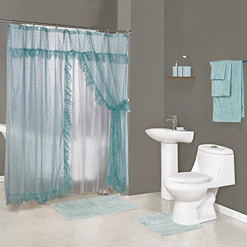 Madison GAL-Set-TQ Galaxy Bath in a Box Ensemble Turquoise, (Ensemble Shower)