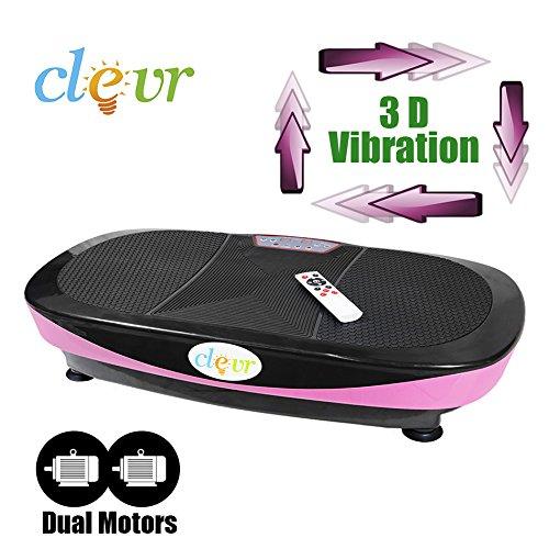 New Clevr Dual Motor Full Body Oscillation Vibration Platform Fitness Machine