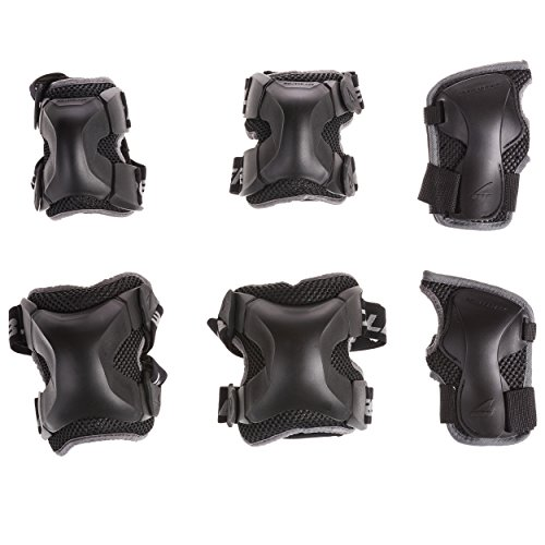 Rollerblade X Gear 3 Pack Protective Gear, Knee Pads, Elbow...